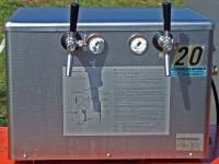 Zapfanlage 2-leitig, Obertheke